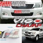 ไฟ DRL Daytime running LED Daylight โครเมียม Toyota Vigo Champ 2012-2014 วีโก้ แชมป์
