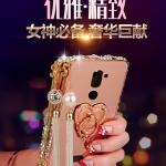 Case Huawei GR5 2017- เคสขอบโลหะ ฝาหลังสไลด์ ประดับเพชร [Pre-Order]