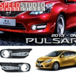ครอบไฟตัดหมอกDaytime running light DRL Day light Nissan Pulsar 2013