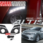 ครอบไฟตัดหมอก Daytime running light DRL Day light LED Altis 2010 2011 2012 2013