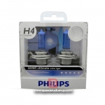 Philips หลอดไฟหน้า H4 DIAMOND VISION ULTIMATE WHITE PLUS 40% แสงขาว 5000 K