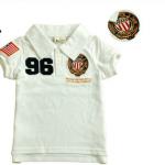 พร้อมส่งค่ะ เสื้อเด็กโปโลสุดเท่ห์ Embroidery polo shirt มี 3 สีค่ะ เหลือไซส์ 110/120