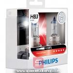 Philips หลอดไฟ HB3 9005 X-TREME VISION PLUS 100% 12V 60/55w