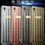 เคส Oppo R7s - เคสโลหะ ลายตารางเคลือบอะคลิลิค Case รุ่น Limited [Pre-Order]