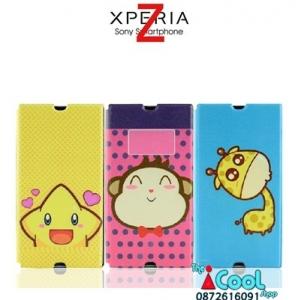 Sony Xperia Z - Cartoon Diary Case [Pre-Order]