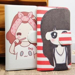 Sony Xperia M - Cartoon Diary Case [Pre-Order]