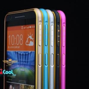 HTC Desire 826 -Bumper ขลิบทอง Hard Case [Pre-Order]