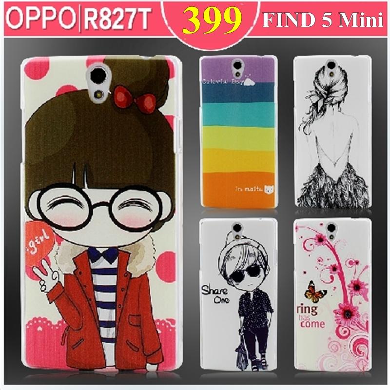 Oppo Find 5 Mini -Cartoon Hard Case [Pre-Order]