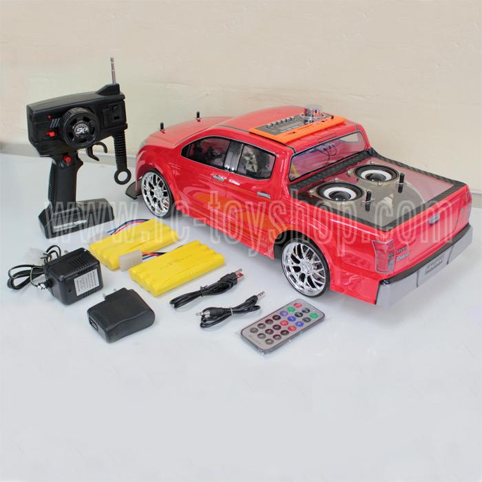 รถบังคับติดเครื่องเสียง MP3