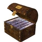 Boxset หีบสมบัติ แฮรี่ พอตเตอร์ เล่ม 1-7 (ปกสีฟ้า ปกแข็ง) เจ.เค. โรว์ลิ่ง (J.K. Rowling) งามพรรณ เวชชาชีวะ, วลีพร หวังซื่อกุล, สุมาลี นานมีบุ๊คส์ NANMEEBOOKS