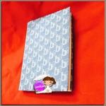 """ปกผ้าคอตต้อนยีนส์นิ่ม เนื้อผ้าถักทอลาย เนื้อผ้าคอตต้อน ขนาด 8"""" ( Pocket Book )"""