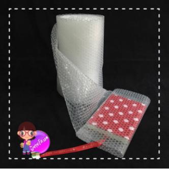 พลาสติกกันกระแทกเกรด A ลมไม่ไหลระหว่างเม็ด ( air bubble ) ขนาด 32cm*10m