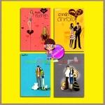 ชุด แก๊งสี่สาว 4 เล่ม : 1.สืบรักกับดักรัก 2.ฉากรักดักหัวใจ 3.เจาะระบบหัวใจ 4.แผนร้ายดีไซน์รัก แก่นฝัน บลูเบลล์ Bluebell คูลแคท CoolKat