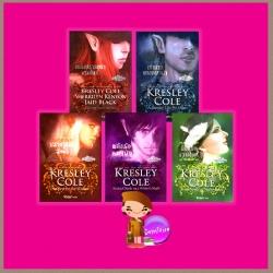 ชุดชีวิตอันเป็นนิรันดร์1-5 เพลิงปรารถนาแวมไพร์ เจ้าสาวของหมาป่า ปราการรักวัลคีรี พลังรักหมาป่า ลิขิตรักแวมไพร์ Immortals After Dark Series เครสลีย์ โคล (Kresley Cole ) จิตอุษา แก้วกานต์