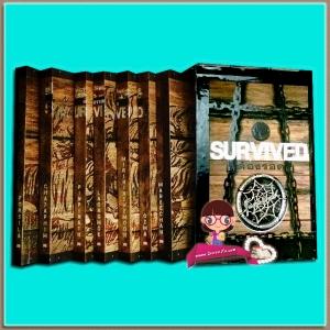 Boxset SURVIVED SERIES: ต้องรอด (มือสอง) ป.ศิลา ชญาน์พิมพ์ ละอองหมอก mirininthemoon ปิ่นปินัทธ์ ozma มณีจันท์ ห้องสมุด Hongsamut