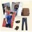 กระเป๋าสะพายไหล่ Muzee No.5 Khaki thumbnail 14