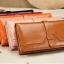 กระเป๋าสตางค์ผู้หญิง Difenise No.6 (หนังแท้) สีเหลือง thumbnail 3