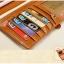 กระเป๋าสตางค์ผู้หญิง Difenise No.6 (หนังแท้) สีเหลือง thumbnail 17