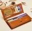 กระเป๋าสตางค์ผู้หญิง Difenise No.6 (หนังแท้) สีเหลือง thumbnail 9