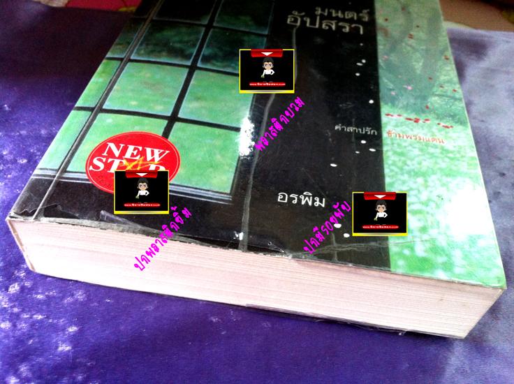 ขายนิยายมือสอง เรื่อง มนต์อัปสรา อรพิม พิมพ์คำ ค้นหานิยาย จาก คลังนิยาย